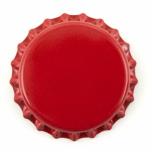 26mm. kapsel rød