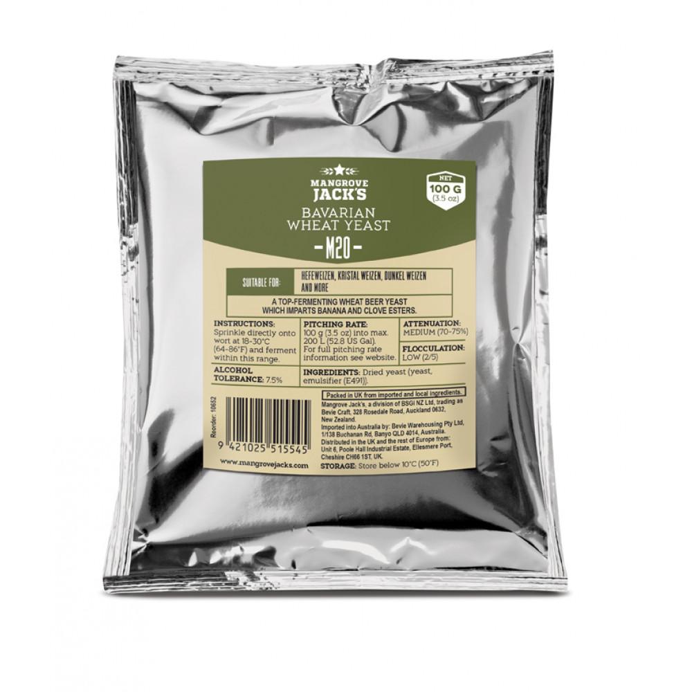 Overgær 100g Bavarian Wheat M20 Mangroce Jack´s