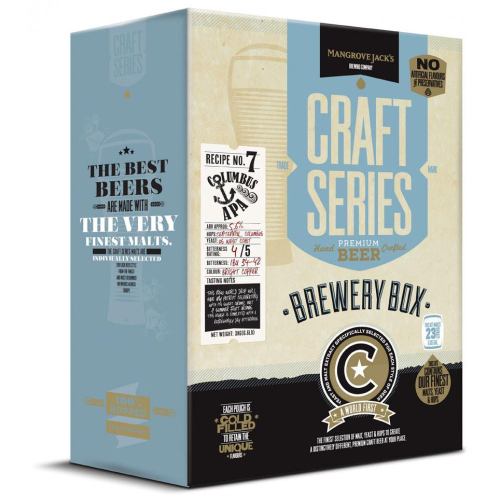 Columbus APA Brewery Box Mangrove Jack's Craft Series