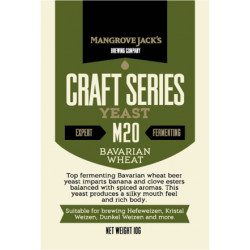 Overgær 10 gr. Bavarian Wheat M20 Mangroce Jack´s