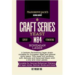 M84 Bohemian Lager - 10g ølgær (undergær)