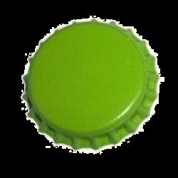 26mm. kapsel 1.000stk. lys grøn