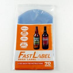 Fastlabel 70 stk. (33 cl. flasker)