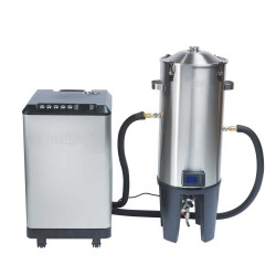 Grainfather Conical Fermenter 30 liter med temperaturstyring, dobbelt aftapningshane og chiller