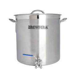 Kedel 35 liter med tappehane
