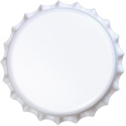 26mm. kapsel hvid