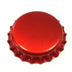 26mm. kapsel rød metallic