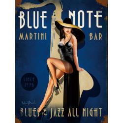Blue note martini bar