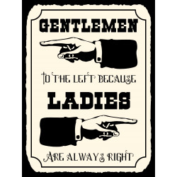 Gentlemen to the left