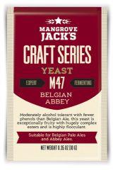 Overgær 10 gr. Abbey Ale M47 Mangrove Jack´s