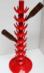 Flasketræ til 81 flasker