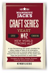 Overgær 10 gr. New World Strong Ale M42 Mangrove Jack´s
