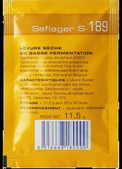Undergær 11,5 gr. Saflager S-189