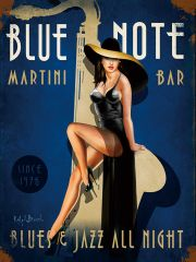 Blue note martini bar